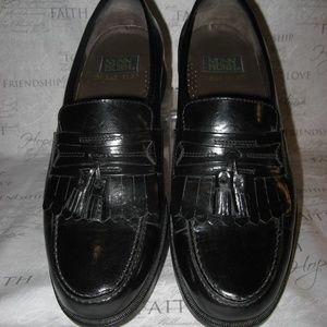 MEN'S NUNN BUSH DRESS FLEX BLACK LOAFERS SZ. 9.5M
